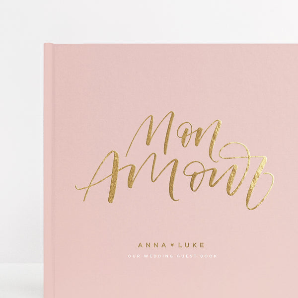 Mon Amour Guest Book