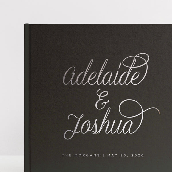 Simple Elegance Guest Book