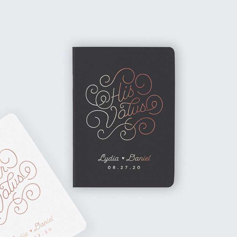 Be Our Guest Vow Books - Set of 2
