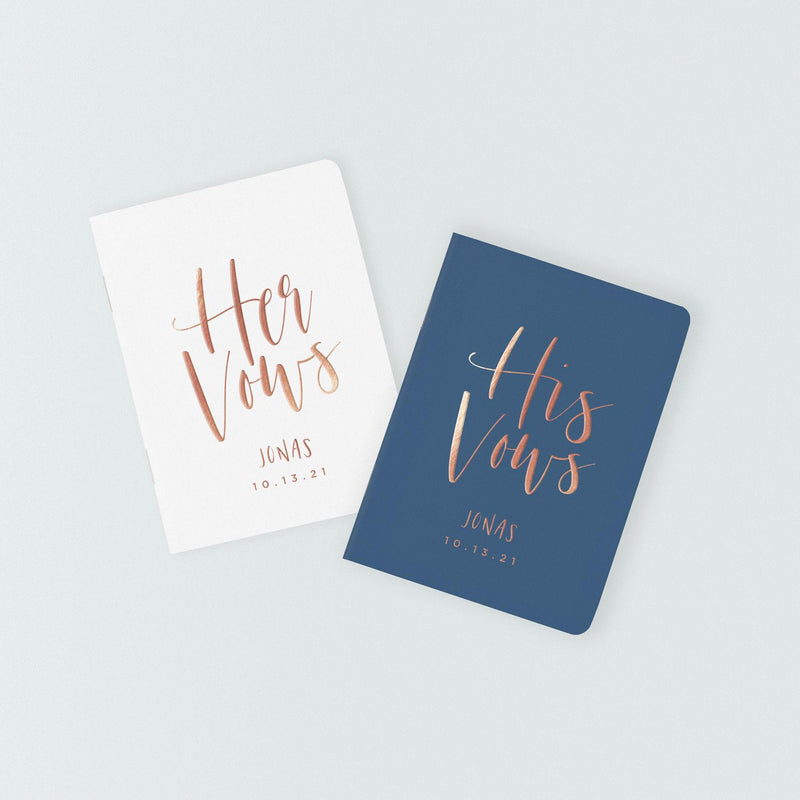 Modern Art Vow Books - Set of 2