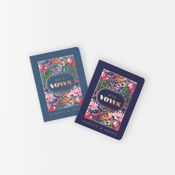 Secret Garden Vow Books - Set of 2