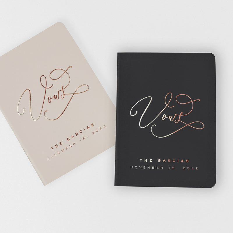 Swash Elegance Vow Books - Set of 2