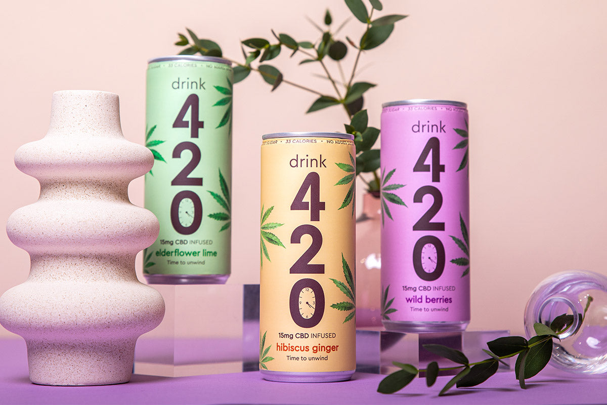 Drink 420 CBD drinks