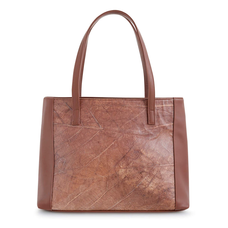 Brown-tote-bag-womenbag-veganleather-Thamonlondon-product