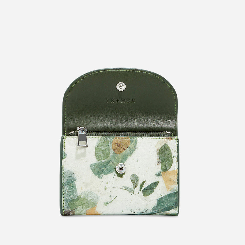 Camouflage- pippa coin purse- women's wallet- leafleather- Thamonlondon
