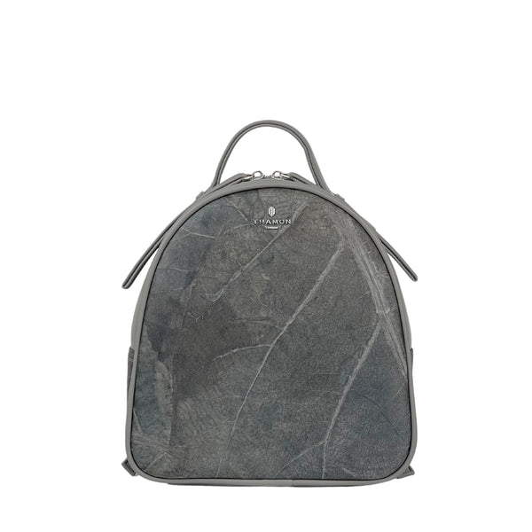Grey-rachel-mini-backpack-veganleather-Thamon-product