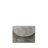 Grey- pippa coin purse- women's wallet- leafleather- Thamonlondon