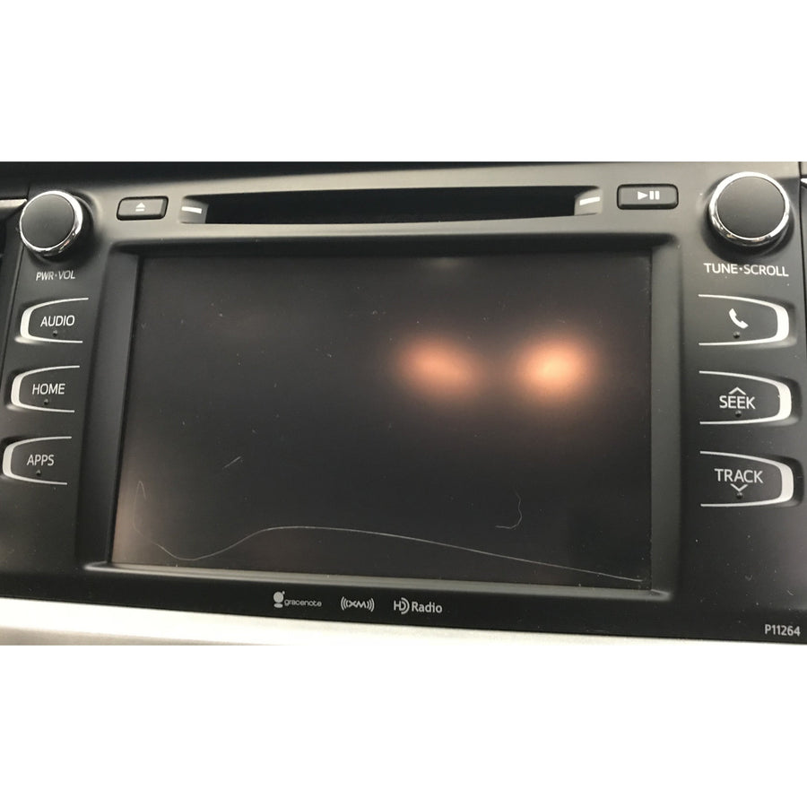Toyota Highlander Non-Navigation 8 inch LCD and Touchscreen - Factory Radio Repairs