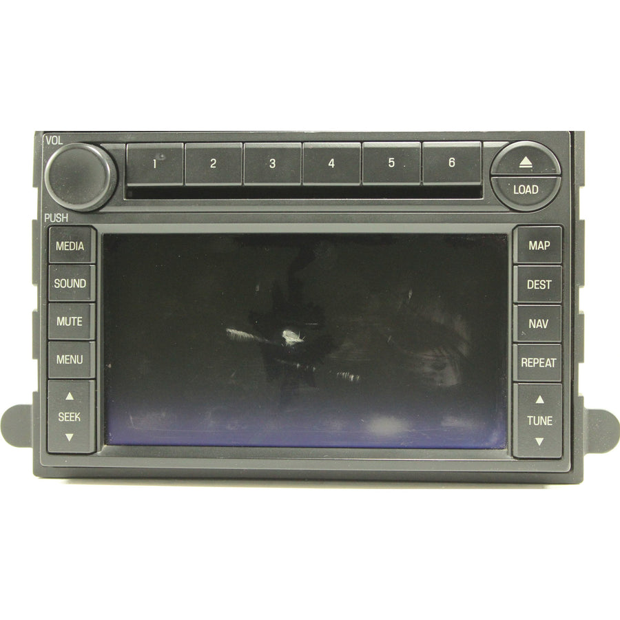 Ford Lincoln Pioneer Navigation Radio 6.5 inch LCD with Touchscreen - Factory Radio Repairs