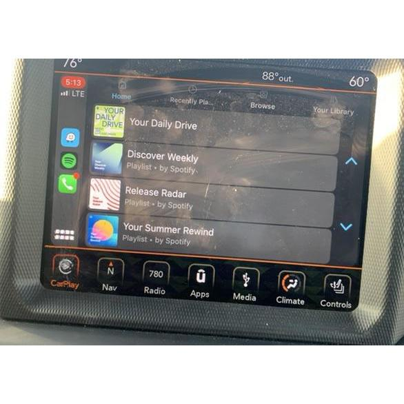 Uconnect 4C with 8.4 inch Touchscreen Panasonic Radio LCD LA084X01 SL01 - FRR