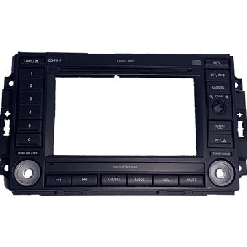 REC REJ Navigation Radio Replacement Faceplate Bezel Trim - FRR