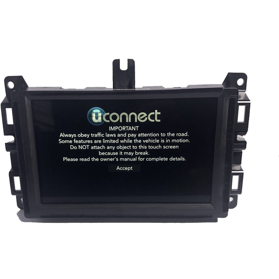 Uconnect 4 with 7 inch screen UAG Radio Replacement LCD and Touchscreen C070EAT01.0 - FRR