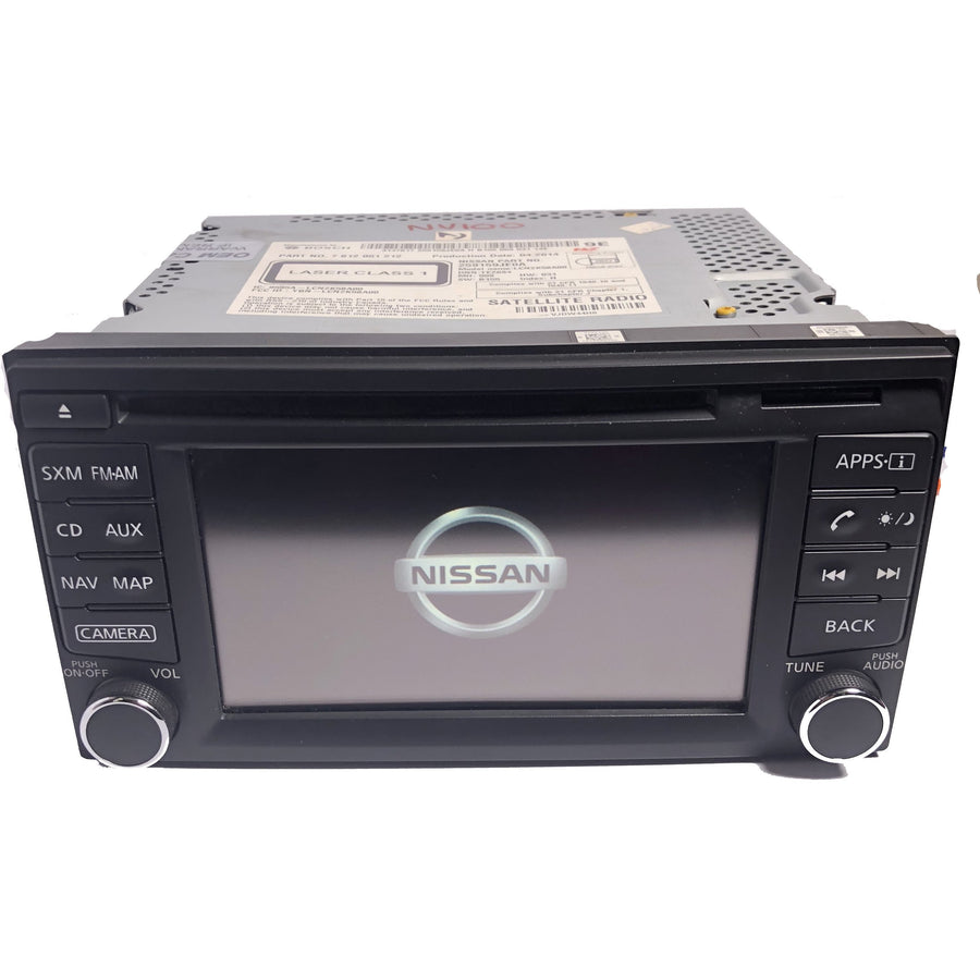 Nissan Connect 7 inch Replacement Touchscreen LQ070Y5DG36 - Factory Radio Repairs