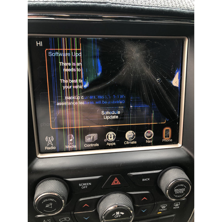 Uconnect 3C with 8.4 inch Screen VP3 and VP4 Radio Replacement LCD and Touchscreen - FRR