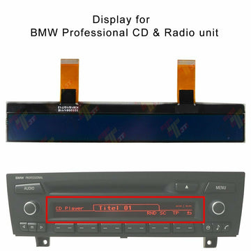 BMW E90 E91 E92 Mini Cooper Non Alpine OEM LCD Display - Factory Radio Repairs