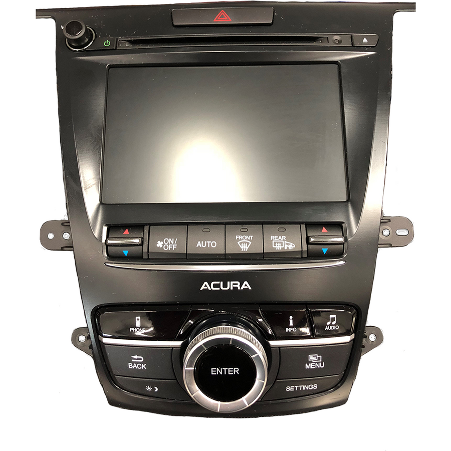 Acura MDX TLX 7 inch Replacement OEM Touchscreen Digitizer - Factory Radio Repairs