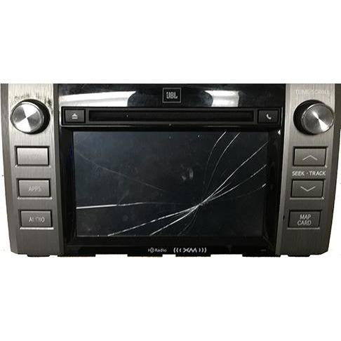 Toyota Tundra Panasonic Entune 2.0 Radio 7 inch Touchscreen - Factory Radio Repairs
