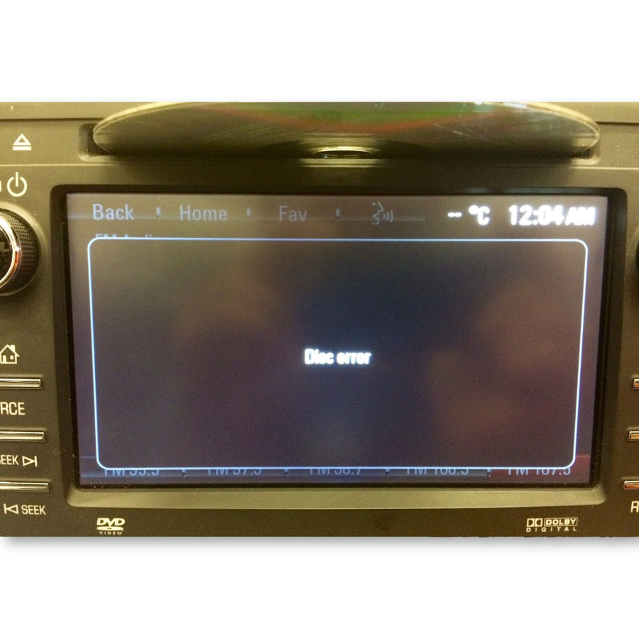 Buick Chevrolet GMC Delphi Mylink Radio CD DVD Mechanism DVS8601V - Factory Radio Repairs