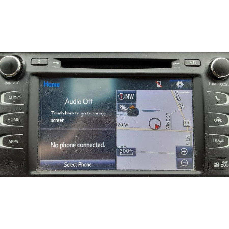 Toyota Highlander Panasonic Entune 2.0 8 inch Touchscreen Digitizer - FRR