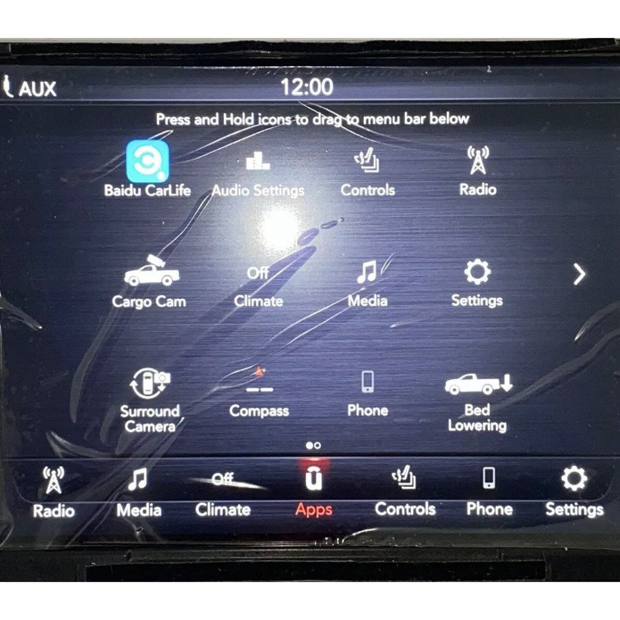 Uconnect 4 with 8.4 inch Screen Delphi Radio Replacement LCD and Touchscreen LQ084X5LX01 - FRR