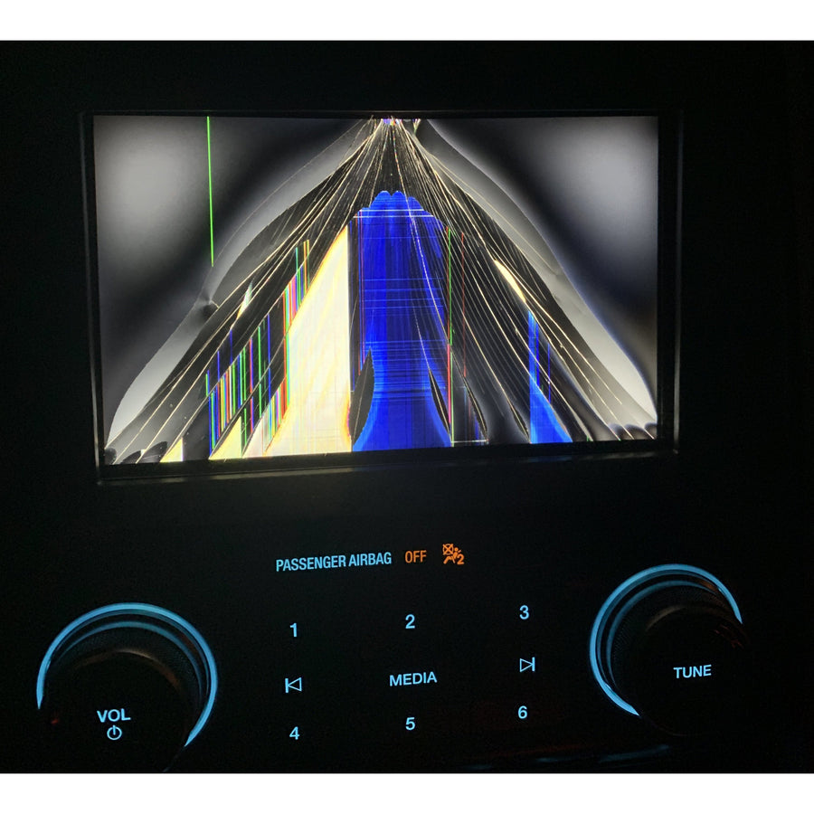 Ford Lincoln MyFord Touch Sync 2 Radio LCD with Touchscreen - FRR