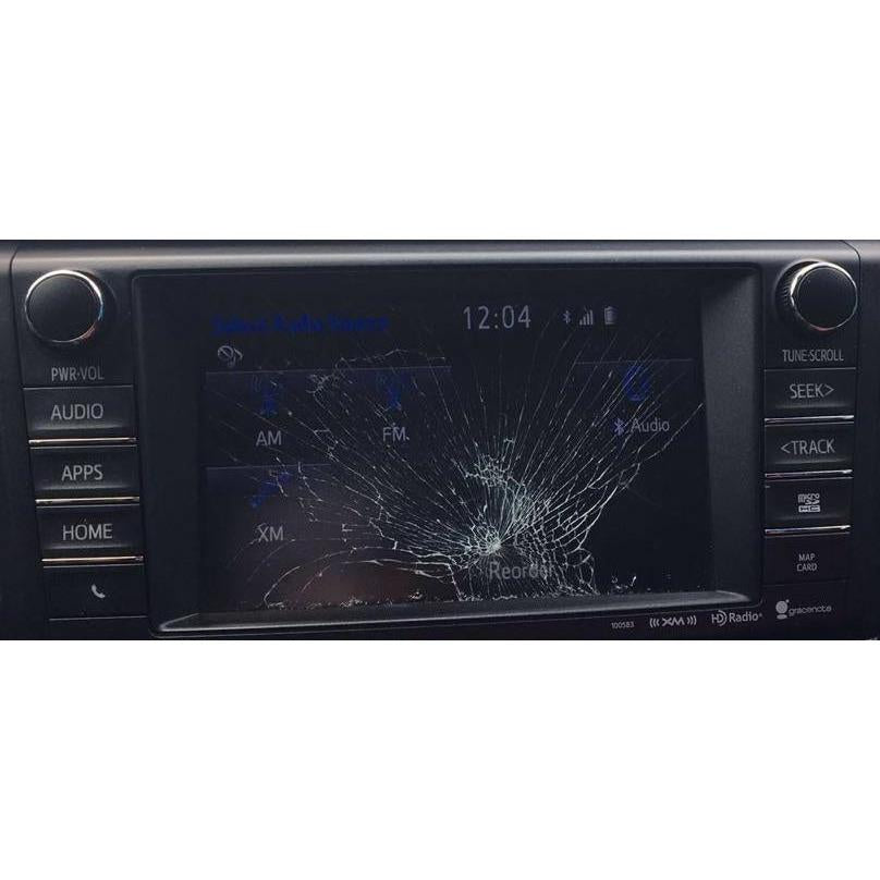 Toyota Rav4 Fujitsu Ten Entune 2.0 7 inch Replacement Touchscreen - FRR
