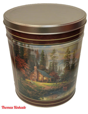 3.5 Gallon Holiday Tins