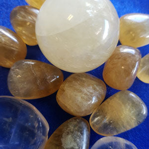 honey golden calcite