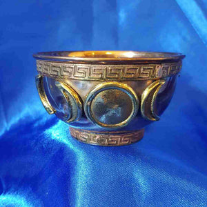 Triple Moon Copper Bowl (approx. 8x3.5cm)