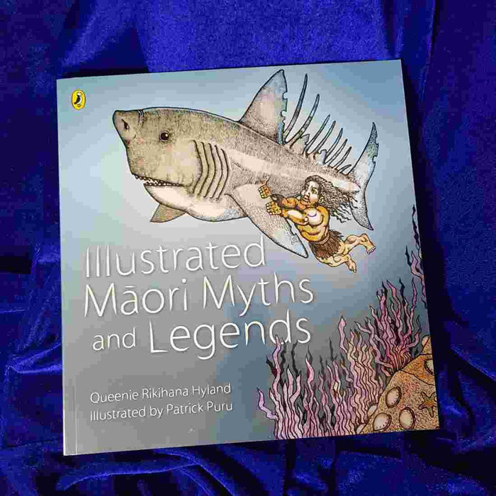 Illustrated Maori Myths & Legends.