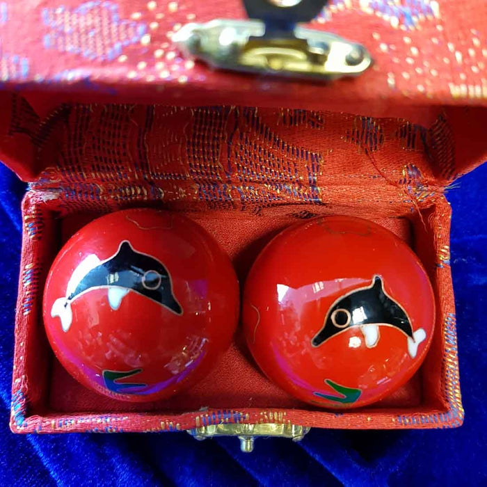 Red Dolphin Health Balls