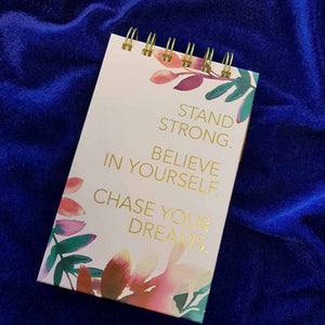 Stand Strong Note Pad & Pen Set