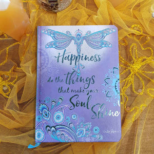 Happiness Dragonfly Dreams Journal (unlined)