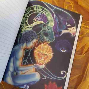 The Dreamers Story Tarot Journal (approx. 18x23.5cm)
