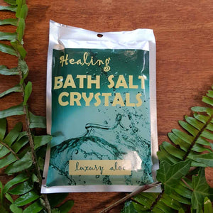 Luxury Aloe Himalayan Salt Bath Crystals (100gr)