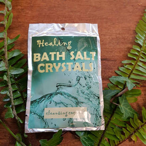 Cleansing Coconut Himalayan Salt Bath Crystals (100gr)