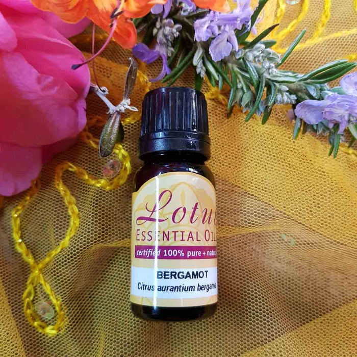Bergamot Essential Oil (certified 100% pure & natural from Italy) 10ml