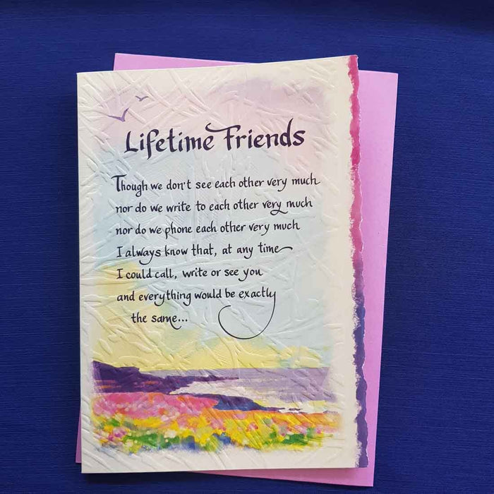 Lifetime Friends Greeting Card