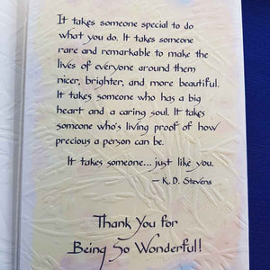 Has Anyone Ever Told You What a Wonderful Person You Are Greeting Card