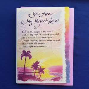 You Are My Perfect Love Greeting Card