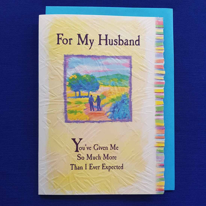 For My Husband Youve Given Me So Much More Greeting Card