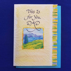 This Is For You Dad Greeting Card