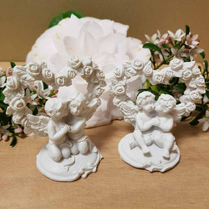 Cherub Angels Kissing (2 assorted) (6x6x4cm)