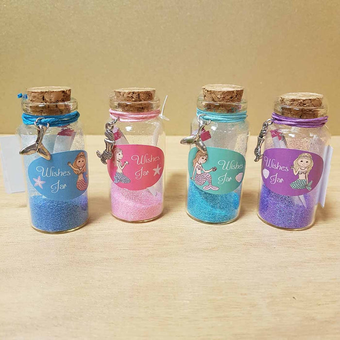 Mermaid Wishes Jar Assorted (approx. 3x7cm)
