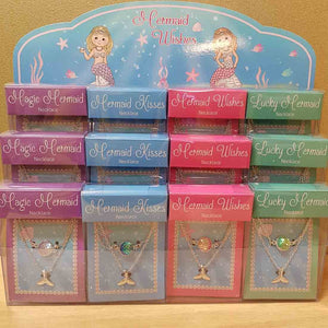 Mermaid Wishes Necklace (assorted colours)