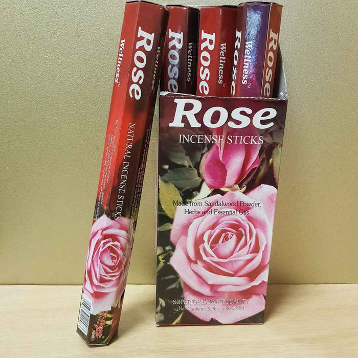Rose Incense. (Wellness 20gr)
