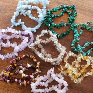 Crystal Chip Bracelet (assorted)