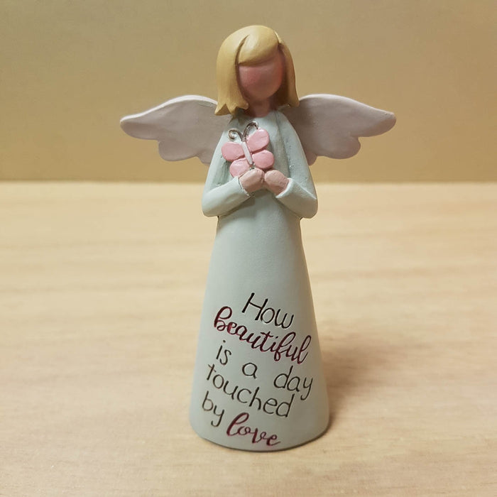 How Beautiful is a Day Angel Figurine (approx. 10cm)