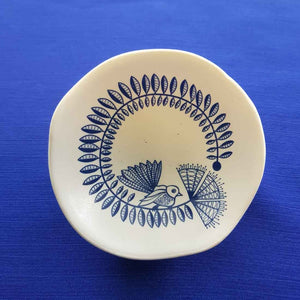 White Fantail Dish (7cm) Jo Luping Design