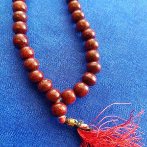 Red Sandalwood Mala/Prayer Beads
